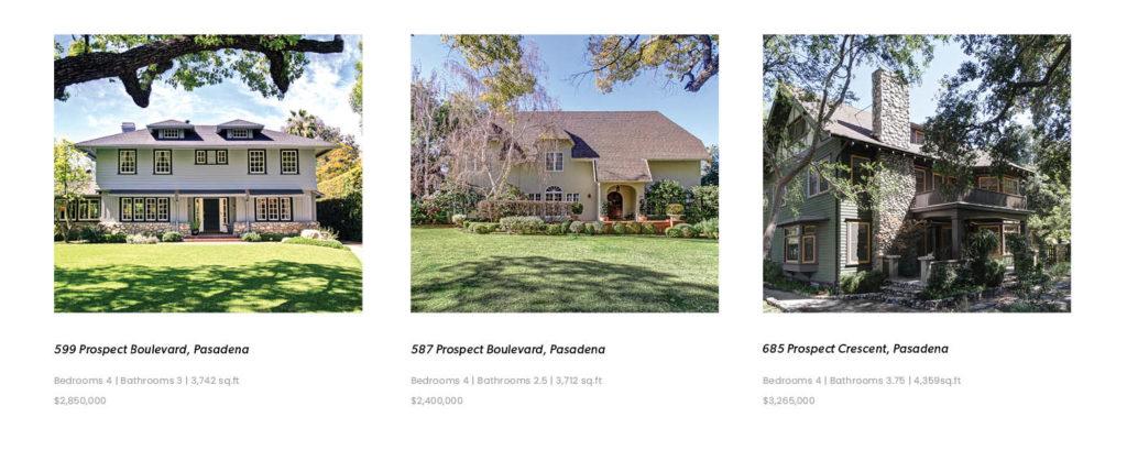 Historic Properties sold by Max Pellegrini